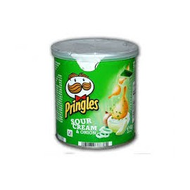 Crisps Pringles 40gr Sour Cream and Onion