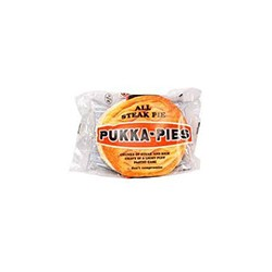 Pukka Pie (All Steak ) and chips