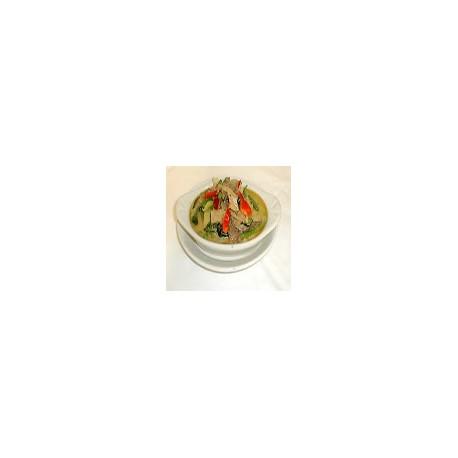 Ternera con curry verde