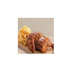 1/2 Spit Roast Chicken and Chips