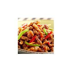 Pollo crujiente con chili y salsa agridulce