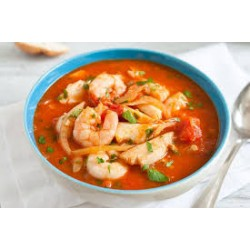 Traditional Canarian Stew (Prawn,Mushrooms,Octopus)