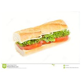 Cheese Baguette with extras