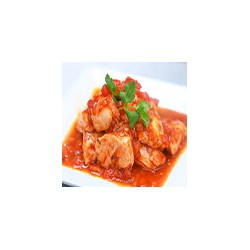 Chicken Tikka Masala with Chips and Rice