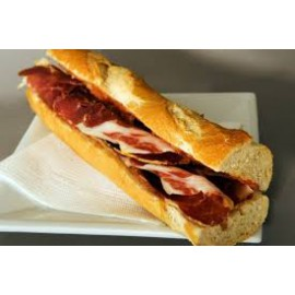 Cheese and Parmaham Baguette