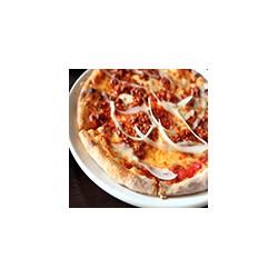 Pizza with Bolognaise Sauce