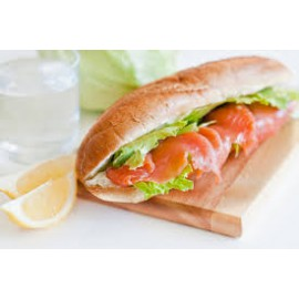 Smoked Salmon Baguette