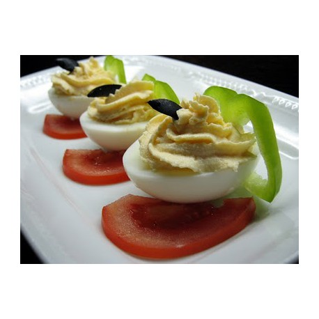 Stuffed Eggs with Pate