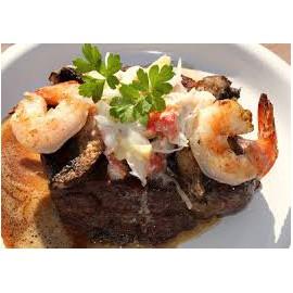 Fillet Steak Atlantico Style