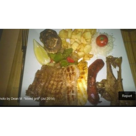Mixed Plate of Meat