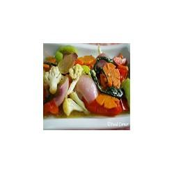 Bolitas de verdura fritas