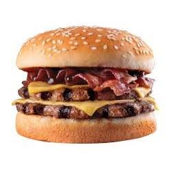 Double Cheeseburger BBQ