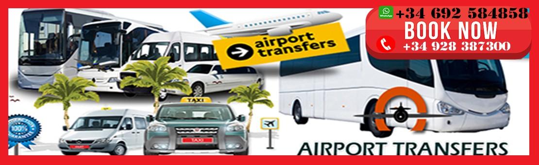 Traslados Aeropuertos Lanzarote