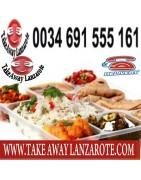 Takeaway food  Lanzarote, Restaurants Playa Blanca takeaways online, free food delivery service lanzarote, playa blanca
