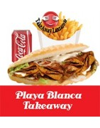 Playa Blanca Takeaway Pizza y Kebab a Domicilio -Reparto a domicilio Gratuito Lanzarote, playa blanca, yaiza,