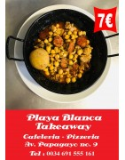Playa Blanca Takeaway Restaurant - Spanish Tapas Restaurant with Free Delivery